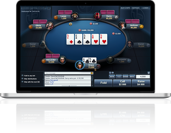 Play poker online at Ultima Poker